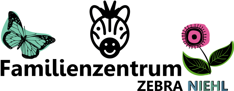 Logo Familienzentrum Zebra Kita Niehl 200